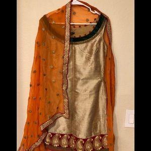 Beautiful 3 salwar kameez piece set
